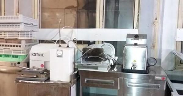 Thanh lý tủ rau, bếp 3 dài 1m8 của Ý