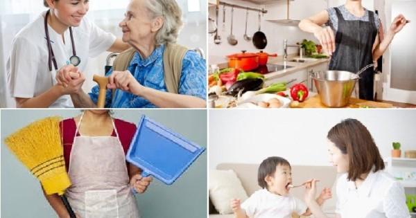 Tìm người trông trẻ và giúp việc nhà