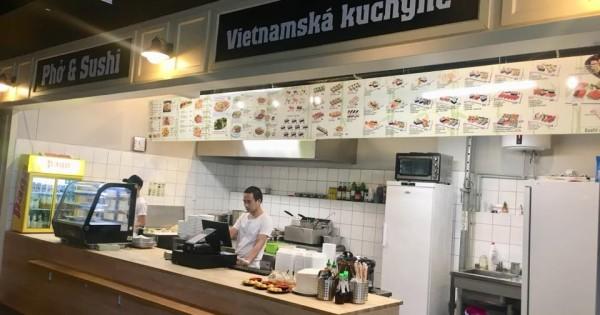 Quán ăn ở Pankrac cần tìm người làm ca trưa từ 11h-15h