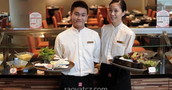 Cần tìm bồi bàn fulltime hoặc parttime cho quán ăn ở Praha 4 Nusle