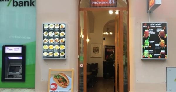 Quán Phở Hinh 24 Vodickova Praha 1 cần 1 bạn nữ đứng quầy casa
