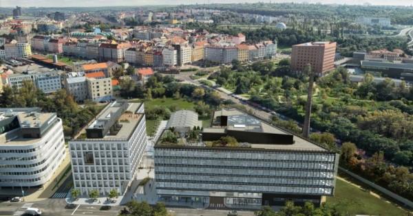 Cho thuê byt 1+1 cho thuê ,địa chỉ tại Praha 8 gần sát bến tàu điện
