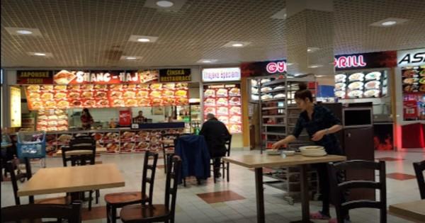 Sang nhượng HĐ quán Sushi trong siêu thị Albert - Čestlice