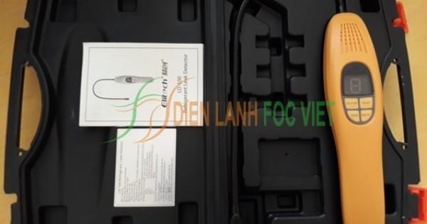 Máy dò rò rỉ khí gas lạnh Elitech LD-100 cho hệ thống điều hòa, kho lạnh